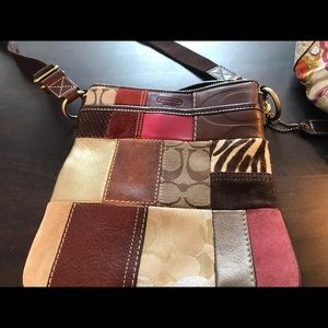 Coach Patchwork Crossbody